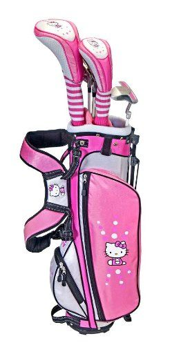 Hello Kitty Golf Junior Set (3-5) at http://suliaszone.com/hello-kitty-golf-junior-set-3-5/Golf Junior, Golf Club, Junior Sets, Kitty Golf, Golf Sets, Junior Golf, Golf Things, Golf Equipment, Hello Kitty
