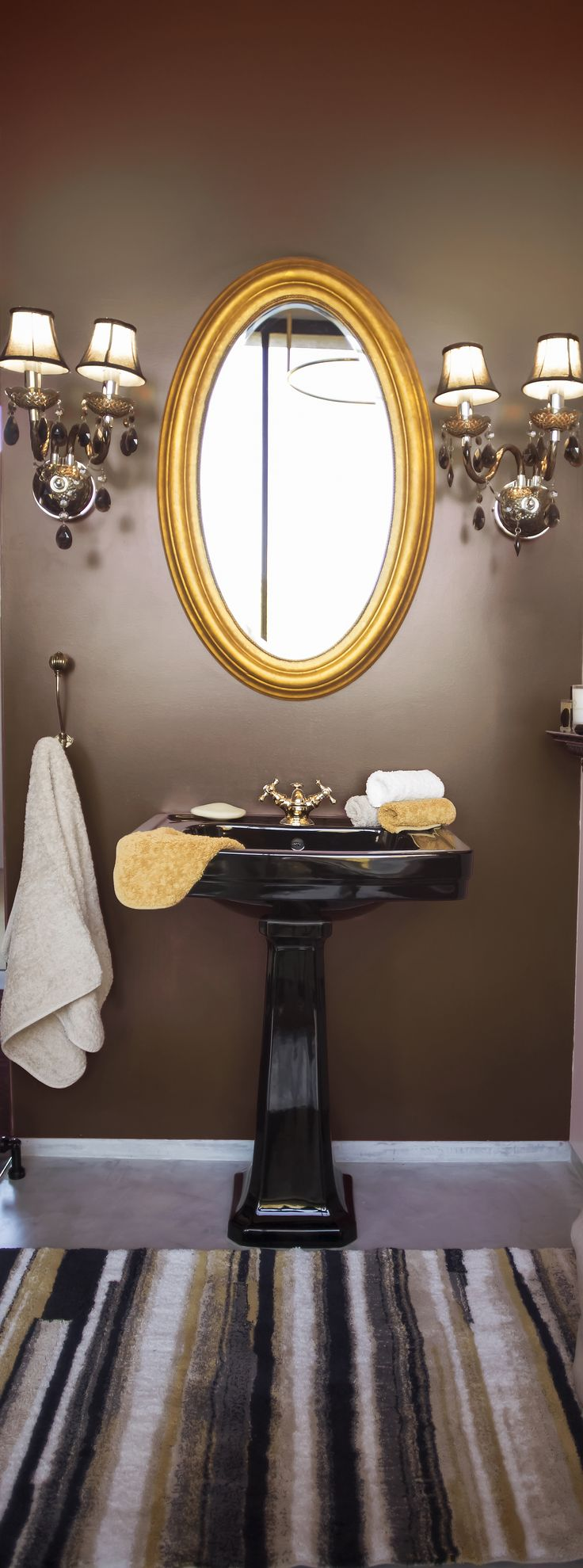 Best Abyss Habidecor Images On Pinterest Luxury Bath - Taupe bath rug for bathroom decorating ideas