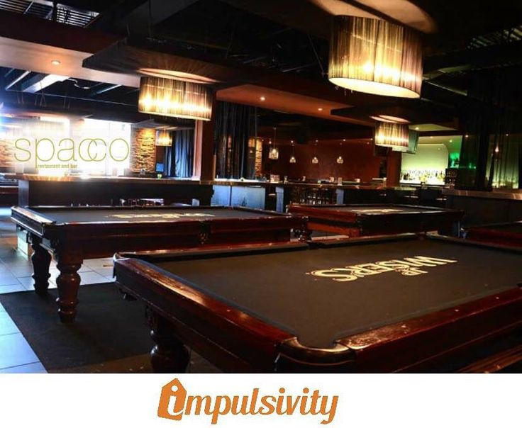 Come visit @SpaccoSang and enjoy 50% off pool with any food order!  Find this deal and many others on your #ImpulsivityApp.  Download it for FREE at the AppStore & Google Play.  #Toronto #ImpulsivityDeal
