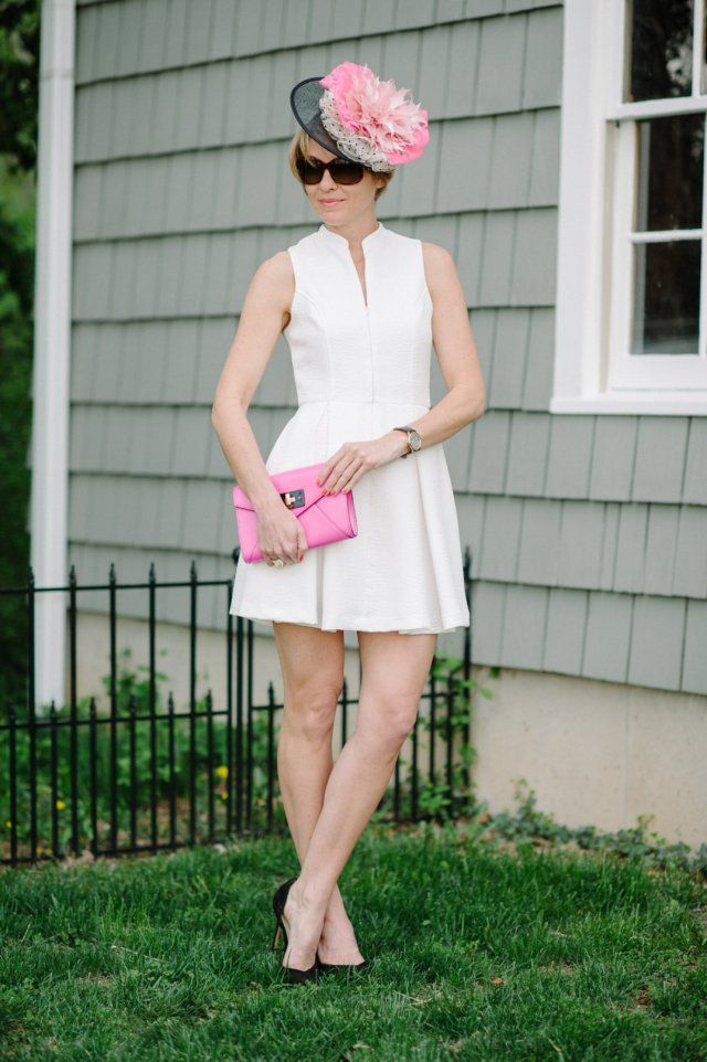 Derby Dresses of the Day: Think Pink! It's Oaks Day!