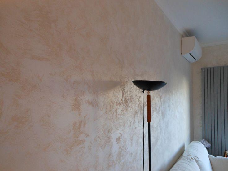 Pittura decorativa per interni cangiante effetto sabbia ideale per ambienti m...