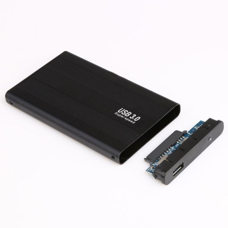 Super Speed 2,5 Zoll Festplattengehäuse Sata zu USB 3.0 Harte Festplatte SATA Externe Speicher Festplattengehäuse Box mit Usb-kabel neue