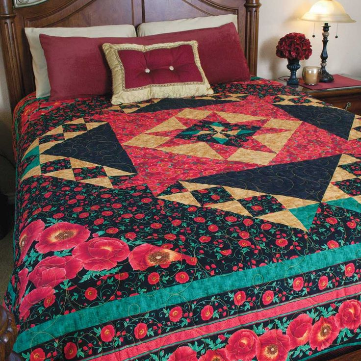 73 best images about Queen Size Quilts on Pinterest Traditional, Quilt and Mccall s quilting