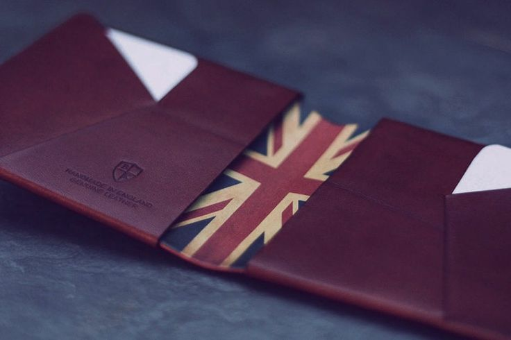Bond & Knight Chestnut Leather Wallet
