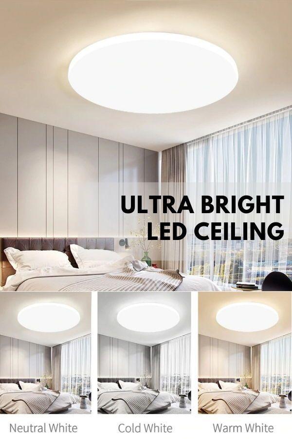 Led Ceiling Lights In 2020 Led Light Fixtures Bedroom Ceiling Light Modern Lamp