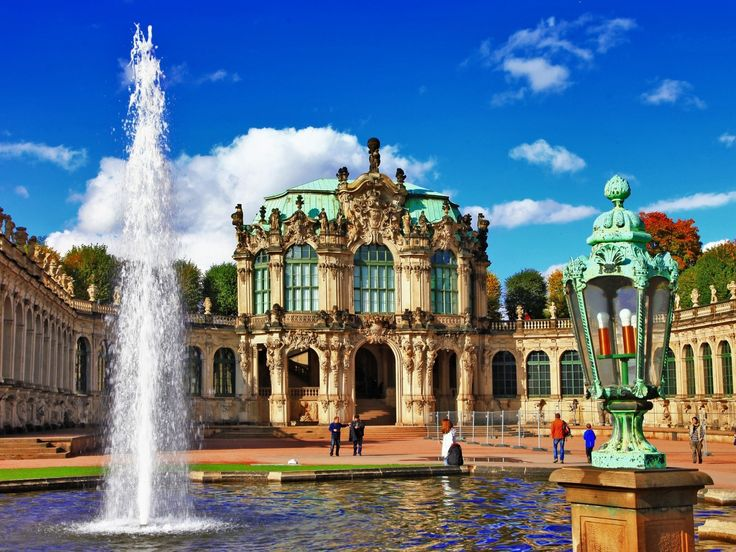 Zwinger Palace, Dresden, Free State of Saxony - Germany