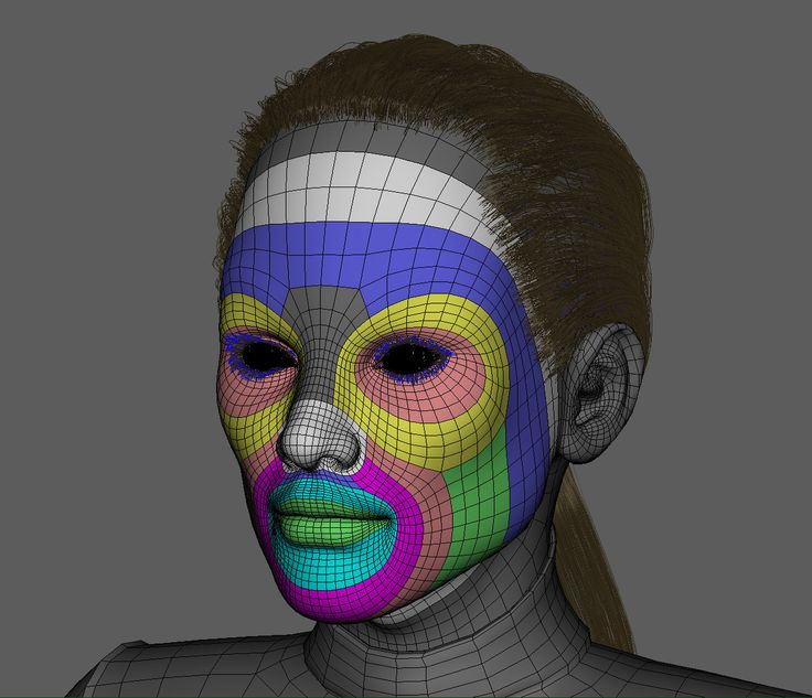 Ben Tanaka Character: ArtStation - Topology, David Vercher
