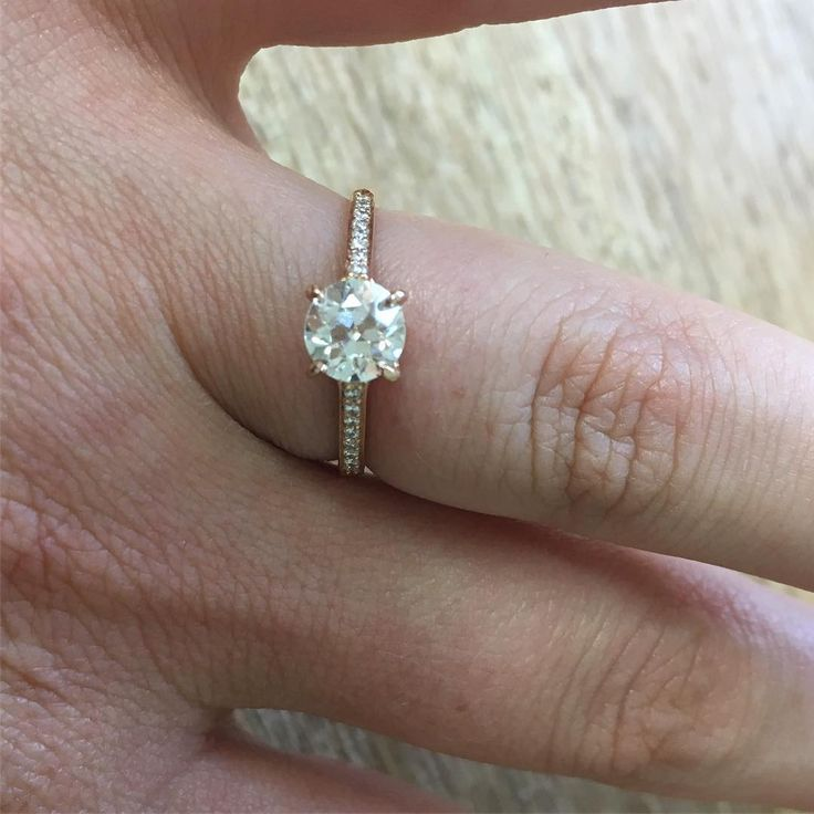 Completely new 319 best || solitaire engagement rings || images on Pinterest  DT48