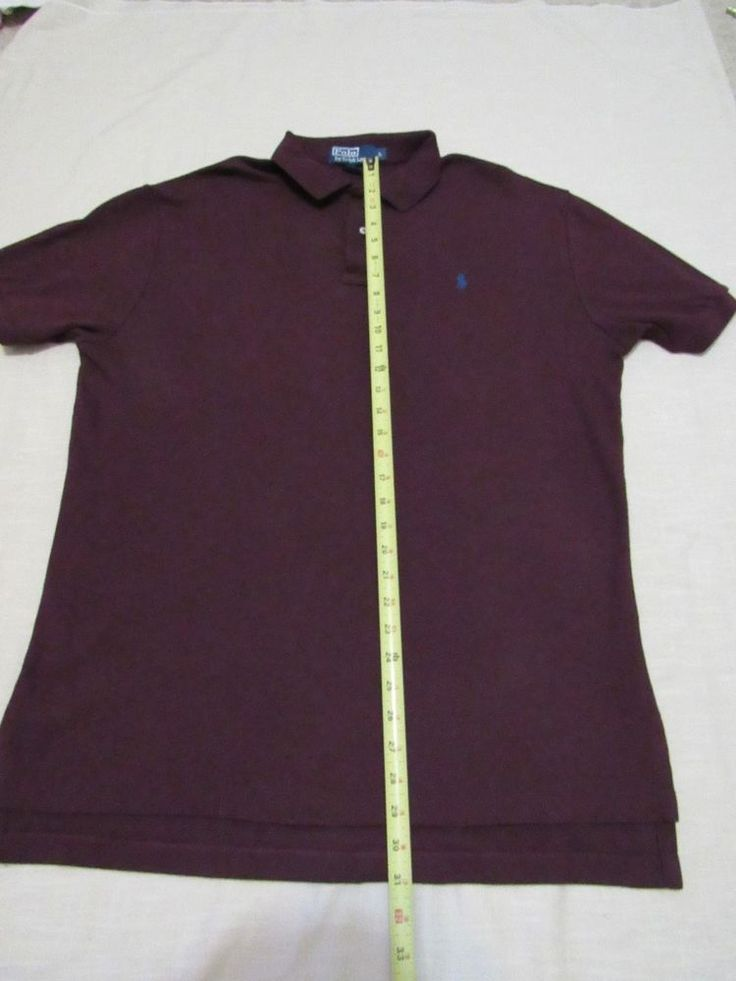 RALPH LAUREN POLO Men's Short  Sleeve Polo Shirt Size Large #RALPHLAURENPOLO #PoloRugby