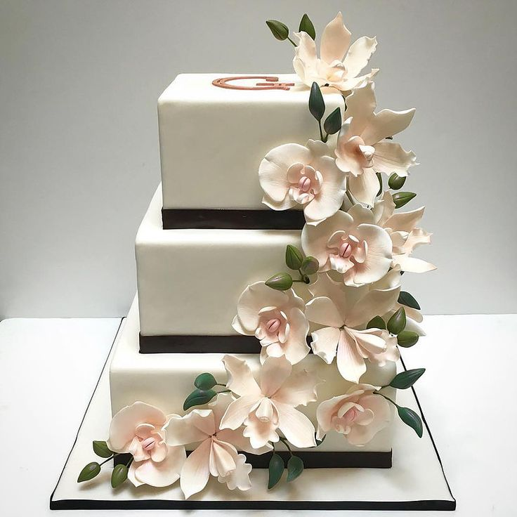 39 Best Wedding Cakes Images On Pinterest