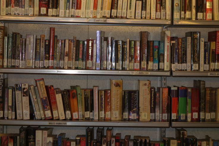 Reading club. Aquí os dejamos el enlace a las obras que se han leido. Este año la propuesta para el mes de marzo será una obra de Orwell.