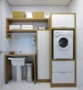 Lavanderia de apartamento