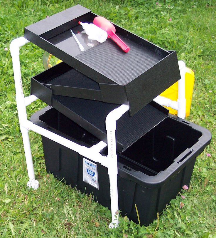 The Original Gold Box Vortex Concentrator 46 Quot Mat High