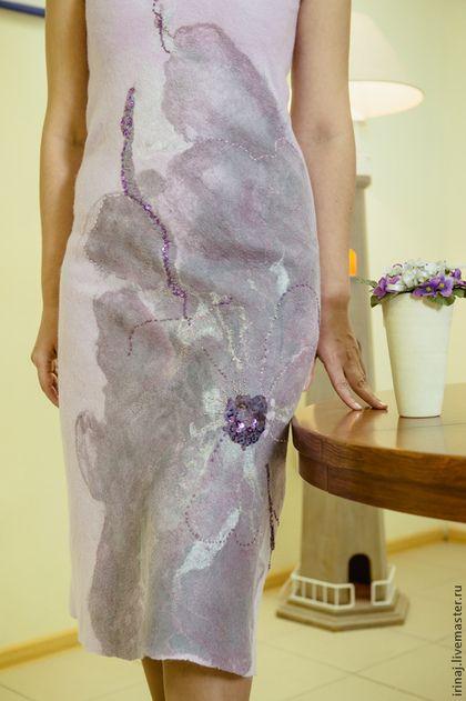 """Платья ручной работы. Ярмарка Мастеров - ручная работа валяное платье """" Эксперимент"""". Handmade."""