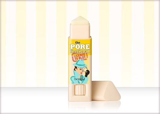 Benefit Cosmetics - the POREfessional: license to blot #benefituk