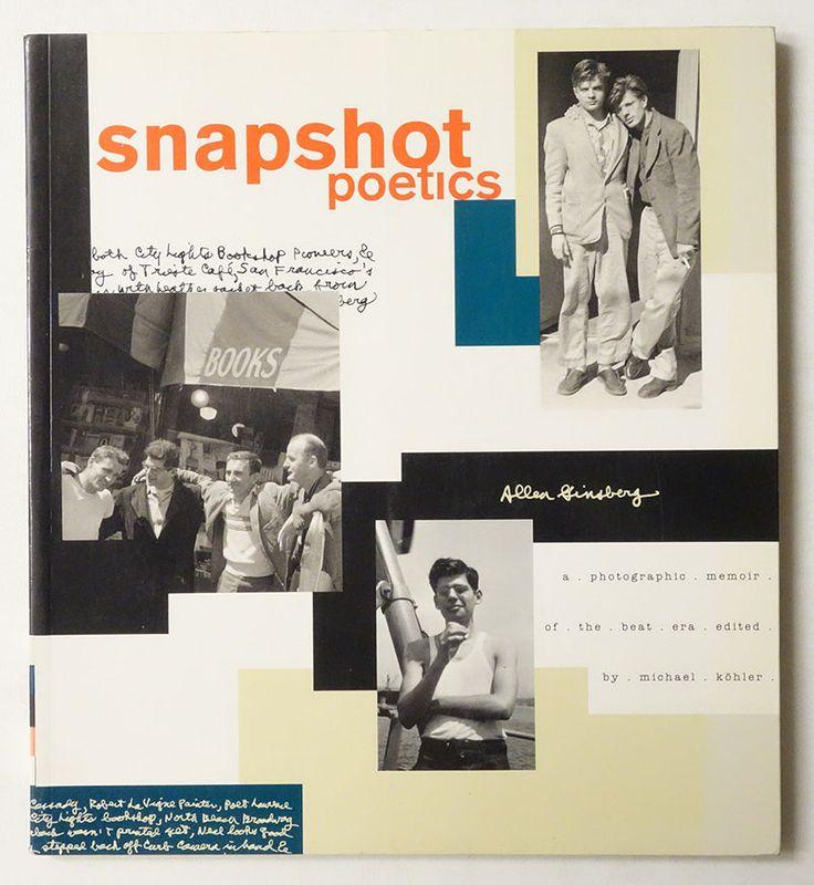 Snapshot Poetics | Allen Ginsberg
