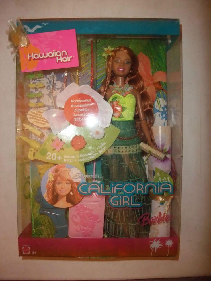 Rare Hawaiian Hair Summer California Girl Barbie Doll 2005 NRFB Boxed Sealed | eBay