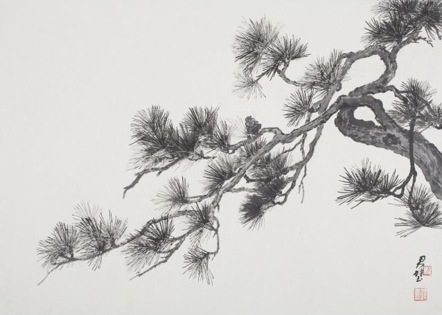 pine tree art - Google 検索