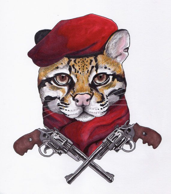 Revolver Ocelot Metal Gear Solid by GhostCaptainCreative on Etsy