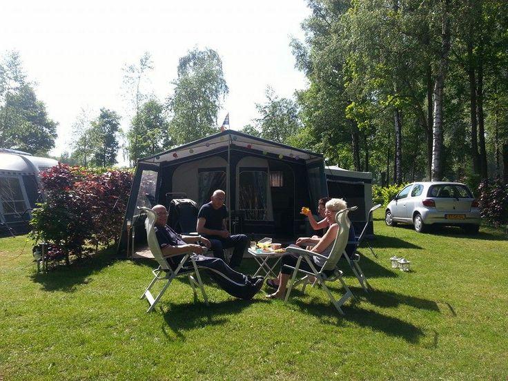 Zo relaxed...kamperen op Wedderbergen!