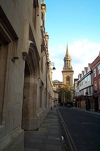 Lincoln College, Oxford, My college where I studied while abroad!
