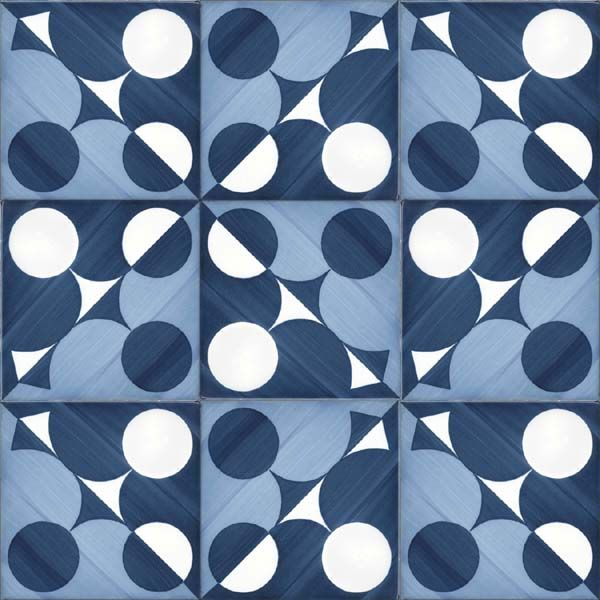 Tile design by Gio Ponti, 1960-1961