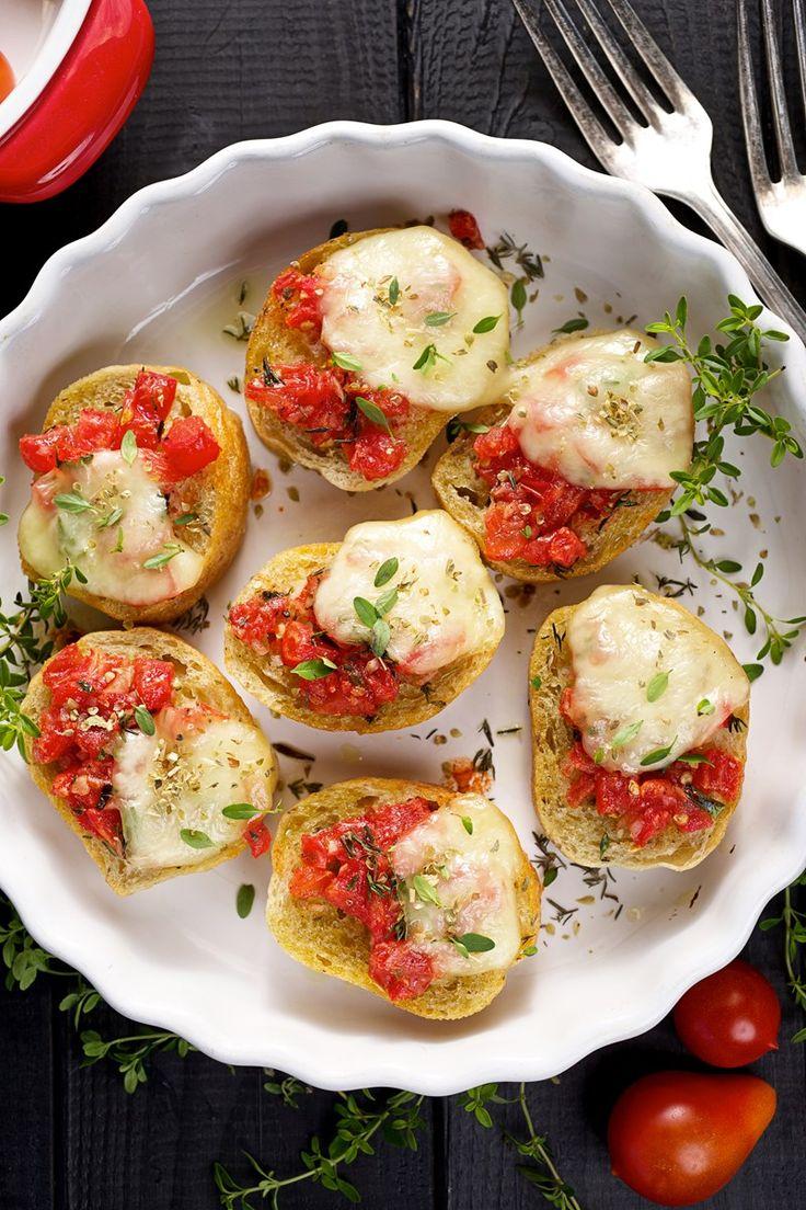Double Tomato Bruschetta Recipe