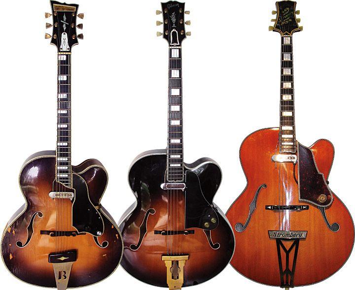W.G. Barker ca. 1962 / Gibson L-5 1952 / Stromberg cutaway => Mary Osborne