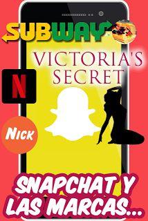 Snapchat y las marcas...
