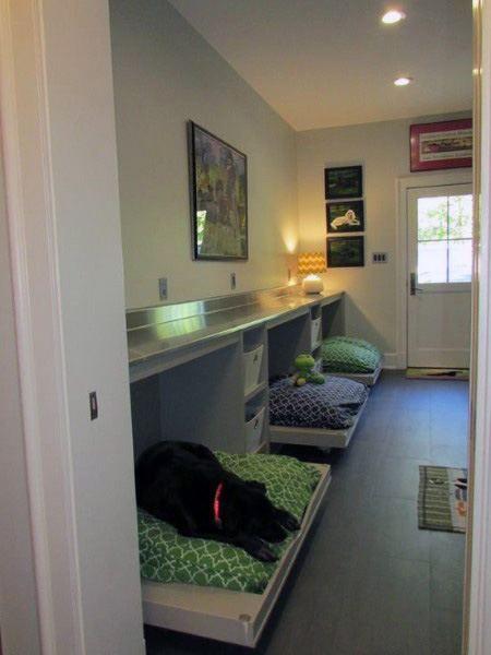 Delicieux Multiple Dog Beds Dog Room Ideas