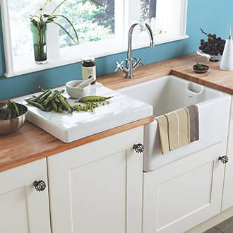 Order online at Screwfix.com. A superb addition to the Belfast sink (Code 41361), the Butler drainer sits on top of your worktop and can be used for draining or as an additional preparation area. FREE next day delivery available, free collection in 5 minutes.