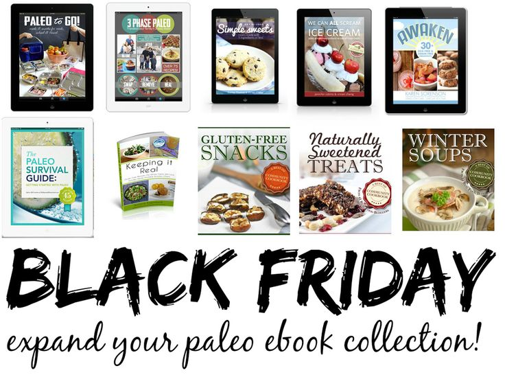 Paleo Black Friday/Cyber Monday Specials! — The Curious Coconut