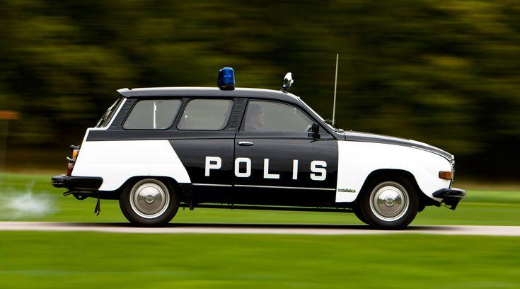 Saab 95 'Polis'