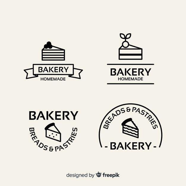 Flat Bakery Logo Template Free Vector Logo Bakery Logo