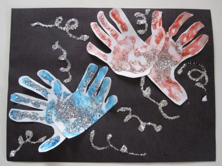 4th of July art projects for preschoolers | 4th of july kids craft