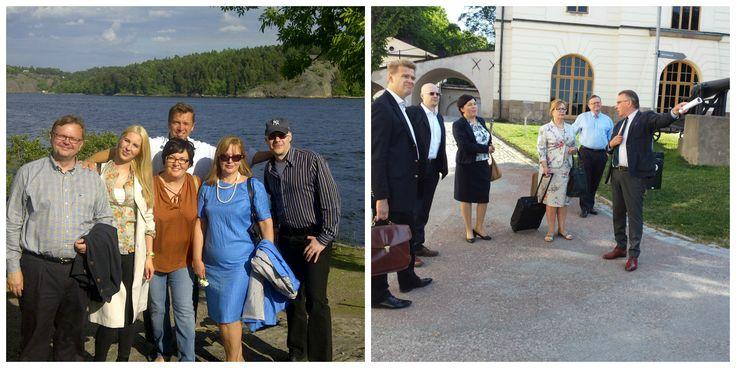 Maailman Parasta Seuraa - kansainvälisesti. MPS-kollegoja Virosta, Liettuasta, Ruotsista, Kiinasta ja Suomesta kokoontuivat Tukholmaan kesäkuun alussa.