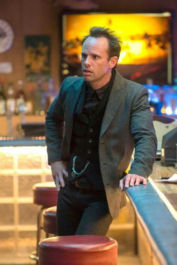 Walton Goggins as Boyd Crowder - one of my favourite actors, and favourite characters.