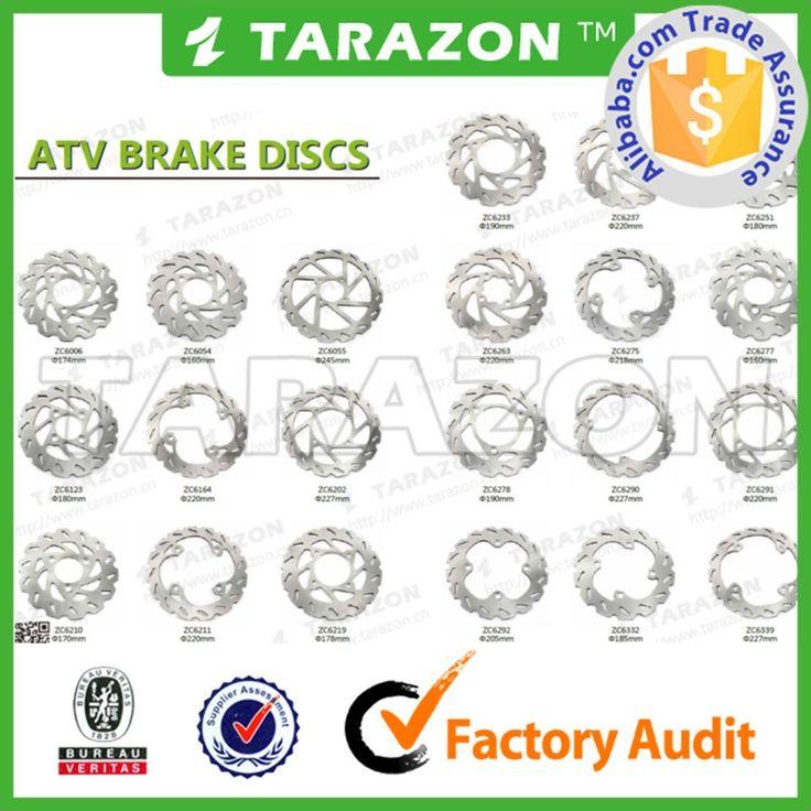 ATV parts brake disk/ disc for Honda Yamaha Suzuki Kawasaki ARCTIC CAT POLARIS CAN AM