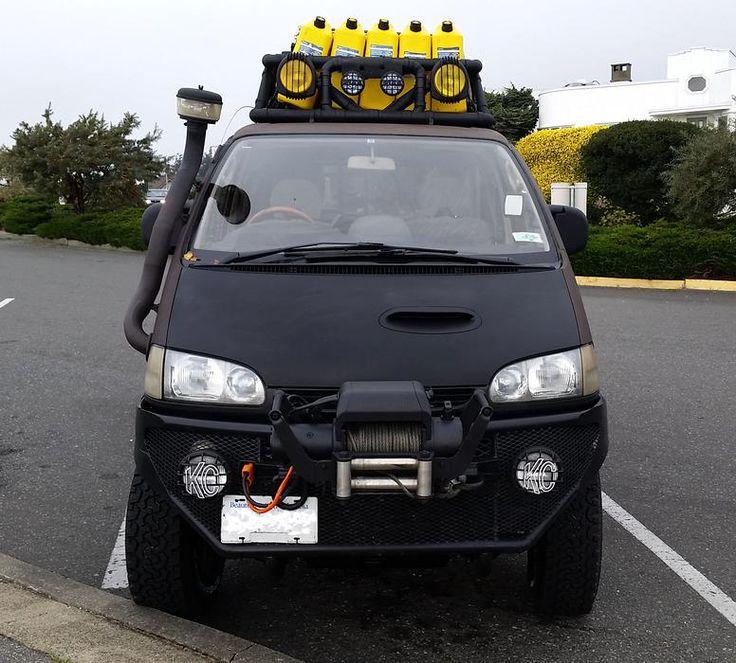 Mitsubishi Delica 4x4 Camper Elevating: 366 Best Vans Images On Pinterest