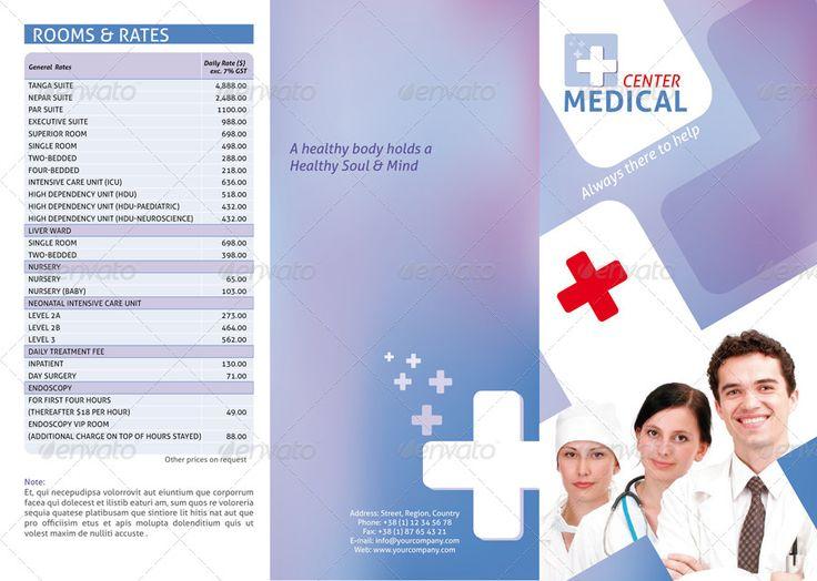 Medical Center Trifold Brochure