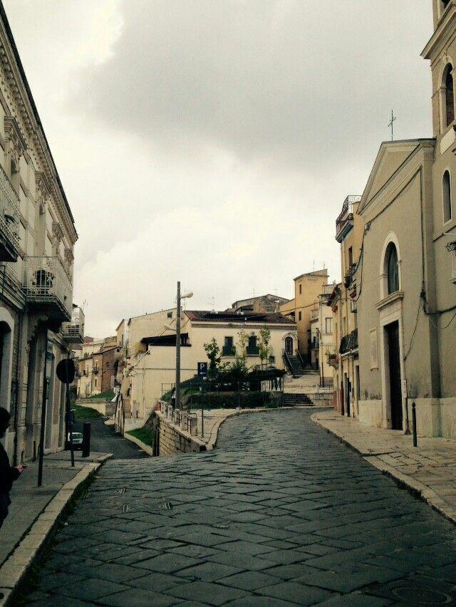 Lavello, Basilicata, Italy. The old centre. By Giovanna S.