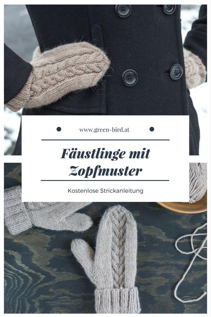 Exelent Nähmustern Fäustlinge Ideas - Decke Stricken Muster ...