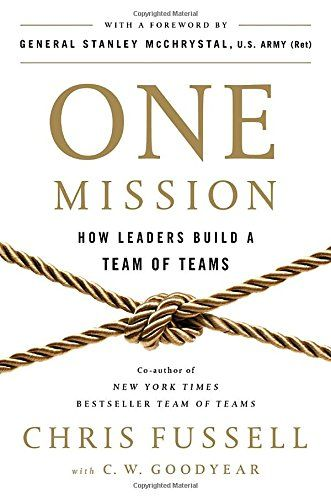 One Mission: How Leaders Build a Team of Teams by Chris F... https://www.amazon.com/dp/0735211353/ref=cm_sw_r_pi_dp_U_x_KQhtAb63J6D1C