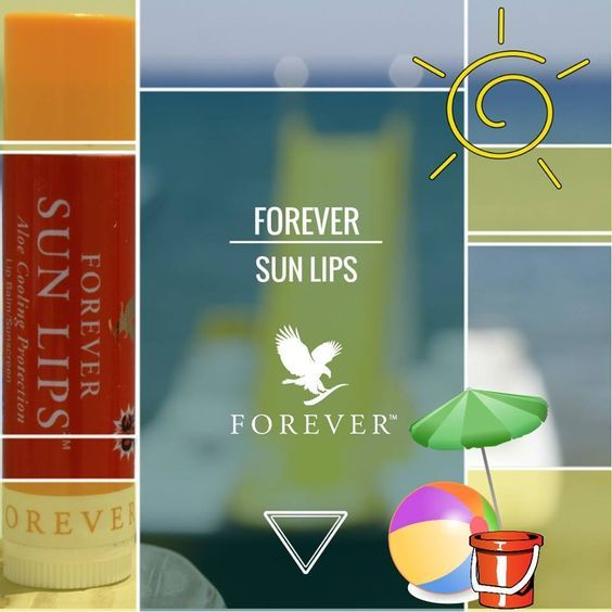 Forever Sun Lips™ can help protect against sun damage, while also providing soothing botanicals to help soften, calm and soothe irritated, chapped lips.  https://www.youtube.com/watch?v=eCwdSOeiURQ http://360000339313.fbo.foreverliving.com/page/products/all-products/7-personal-care/462/usa/en Need help? http://istenhozott.flp.com/contact.jsf?language=en Buy it http://istenhozott.flp.com/shop.jsf?language=en
