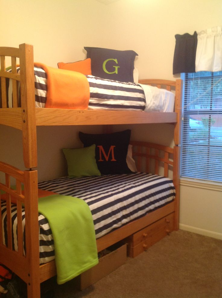 Boys Bunk Bed Bedding Homemade Diy Amp Crafts