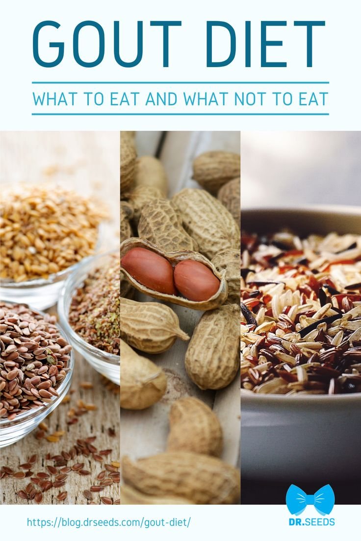 Gout Diet What To Eat And What Not to Eat [INFOGRAPHIC