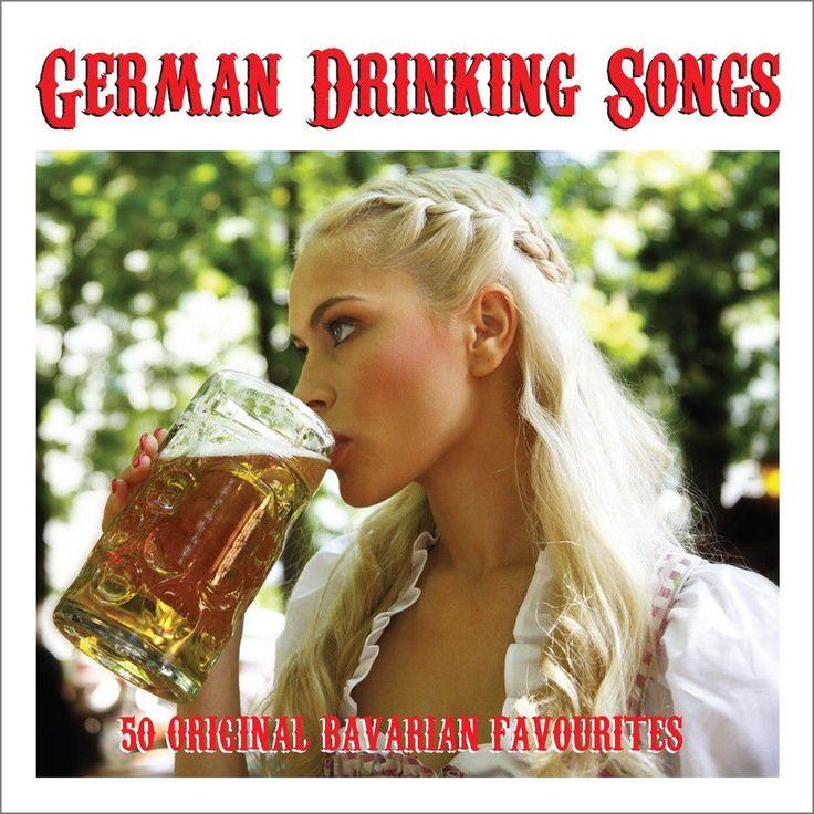 German Drinking Songs VARIOUS Oktoberfest Music BEST OF 50 SONGS New Sealed 2 CD