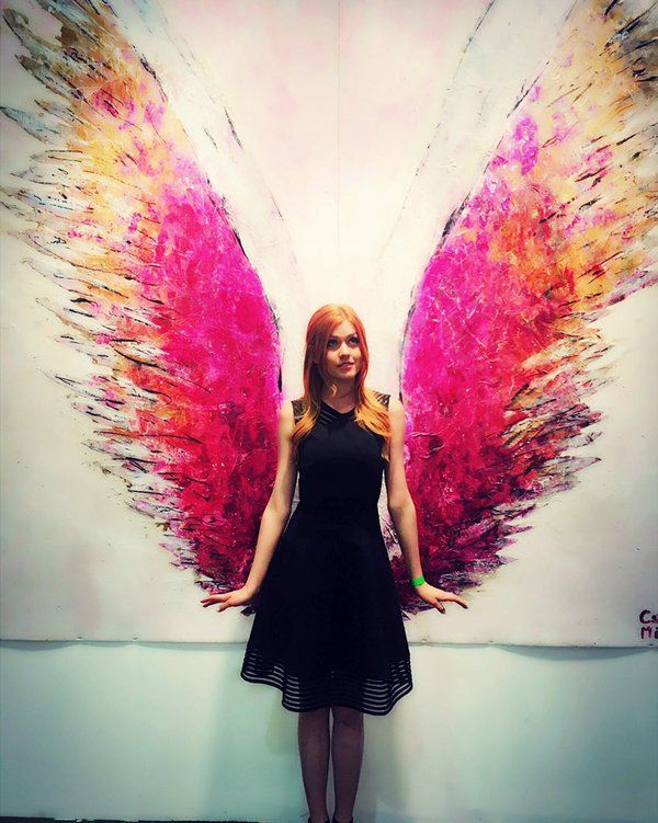 Katherine McNamara LA Art Show And Los Angeles Fine Art Show's