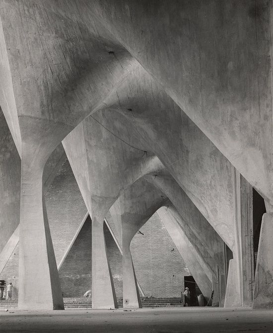 Felix Candela, Iglesia de la Medalla Milagrosa, Mexico City, completed 1955.