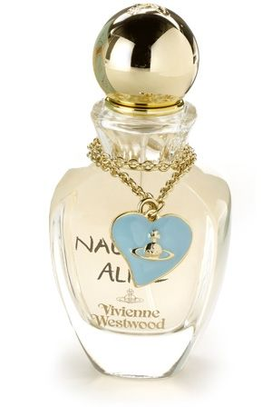 Naughty Alice is the new perfume from the designer Vivienne Westwood, available from October 2010. Inspired by the playful imagination of the controversial Vivienne Westwood world, the perfumer Bruno Jovanovic creates this warm and sexy fragrance for modern women. Note of the composition include black rose, violet, ylang-ylang and musk.